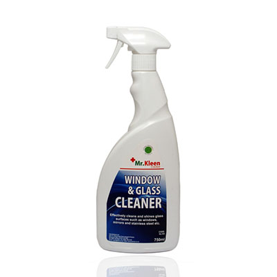 An image of Mr Kleen Window & Glass Cleaner 750ml