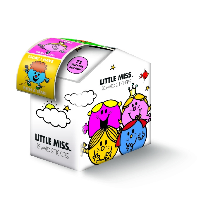 An image of LITTLE MISS REWARD STICKER DISPENSER 75'S