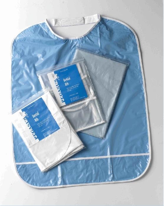 An image of Blue Bib - Velcro Fastening
