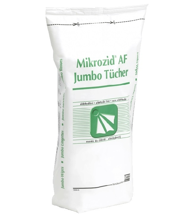 An image of Mikrozid Alcohol Free Jumbo Refill Wipes