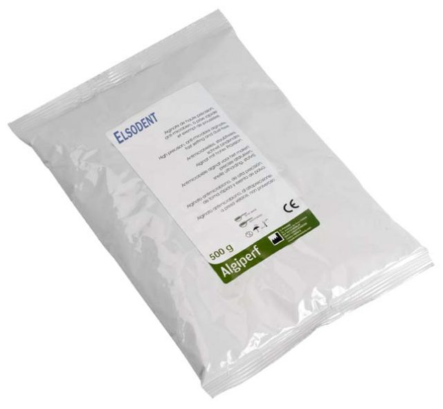 An image of Elsodent ALGIPERF 500g bag dark green