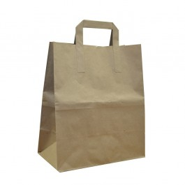An image of Large Brown Bags with handles