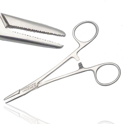 An image of Instramed Sterile Wrights Needle Holder 14cm