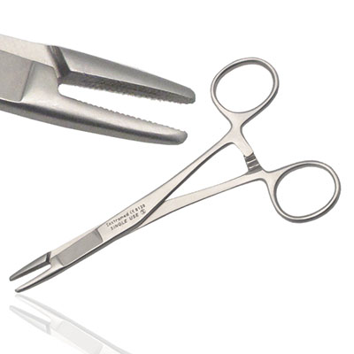 An image of Instramed Sterile Fosters Scissor Needle Holder 14cm