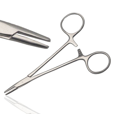 An image of Instramed Sterile Converse Needle Holder 12.5cm