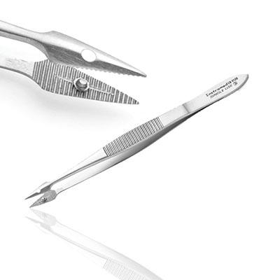 An image of Instramed Sterile Hunter Splinter Forceps - 10.5cm