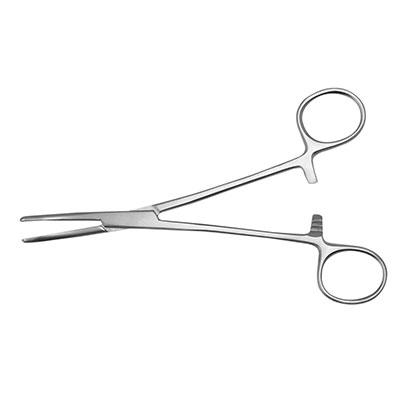 An image of Instramed Spencer Wells Forceps - Curved 12.5cm