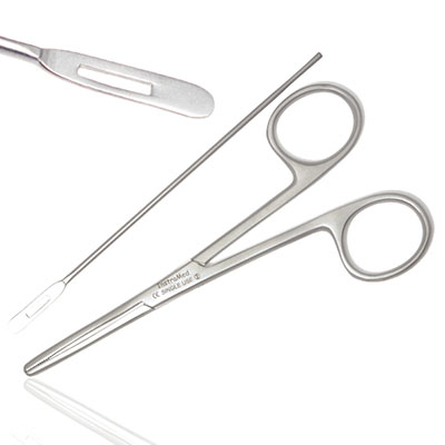 An image of Instramed Sterile Silver Probe Forceps