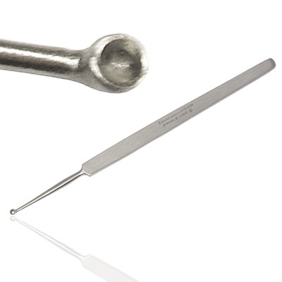 An image of Instramed Sterile Meyhoefer Eye Curette 12.5cm