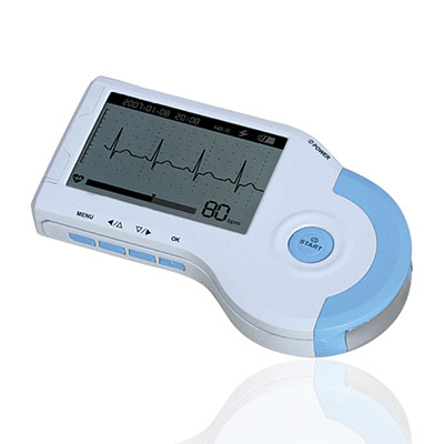 An image of Finesse Handheld ECG Machine Including Software