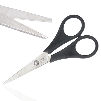An image of Non Sterile Packing Scissors - Sharp/Sharp 11.5cm Disposable