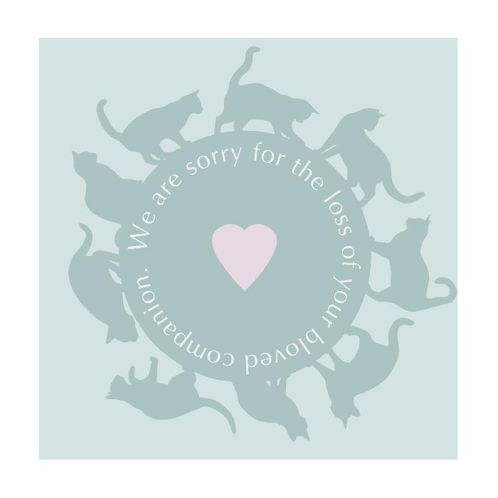 An image of Art Hound Pet Cards - Circle of Cat x 25