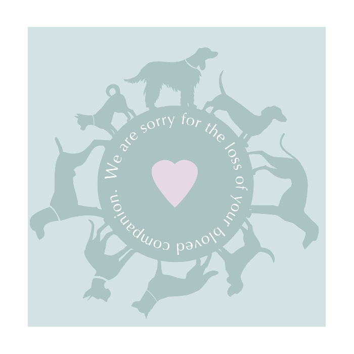 An image of Art Hound Pet Cards - Circle of Dog x 25