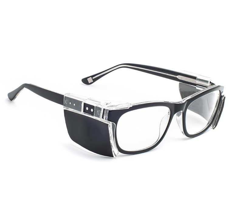 An image of Classic Leaded Glasses Phantom Nickel Metal - Plano