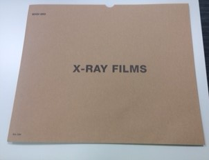 An image of Manilla X-Ray Envelope For 35 x 43cm Film (1)