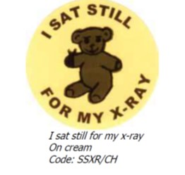 An image of X-Ray Reward Stickers