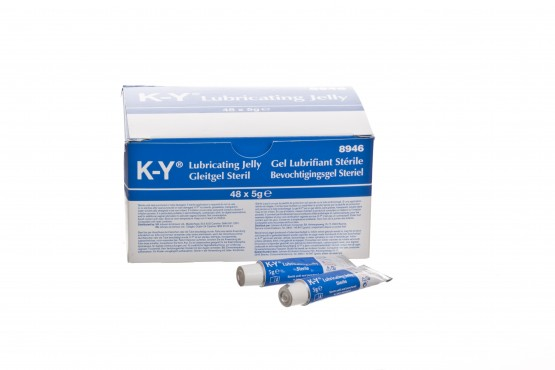An image of K-Y Jelly: 5gm Mini Tubes (Box of 48)