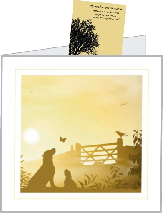 An image of Art Hound Pet Cards with Seed Pack (25)