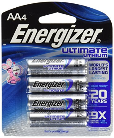 An image of Energizer Ultimate Lithium L91 / AA 4BL