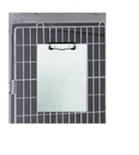 An image of Clip Board A4 with Medicine Bracket - Stainless Steel