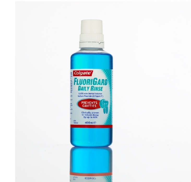 An image of Colgate Fluorigard Daily Rinse 400ml