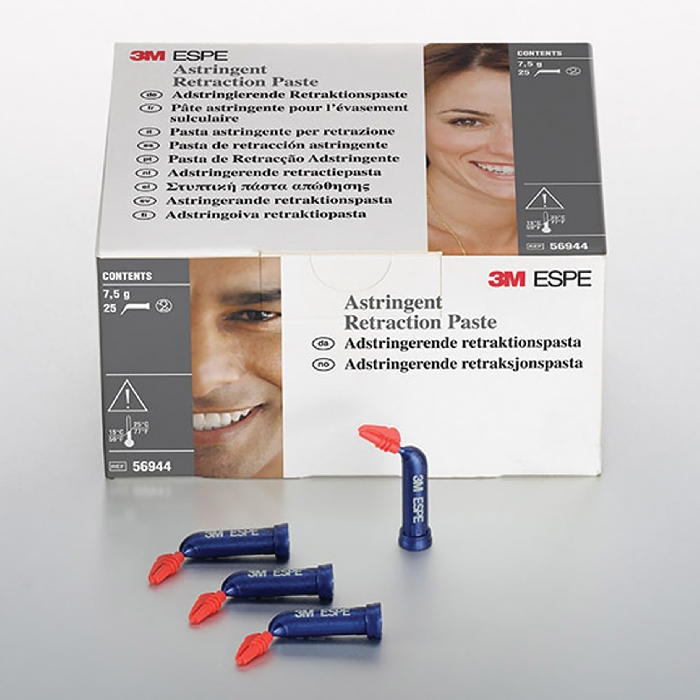 An image of 3M ASTRINGENT RETRACTION PASTE REFILL 25 PACK