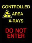 An image of LED Controlled Area Warning Sign