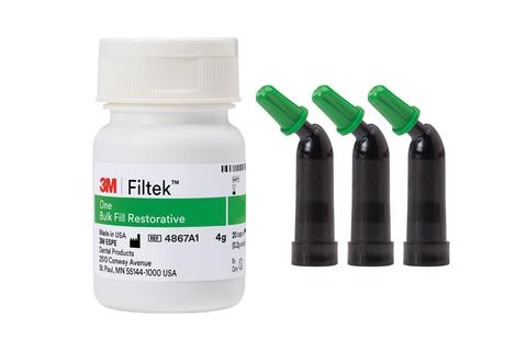 An image of Filtek one bulk fil capsules A2