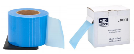 An image of Adhesive Transparent Film ( Blue) Roll