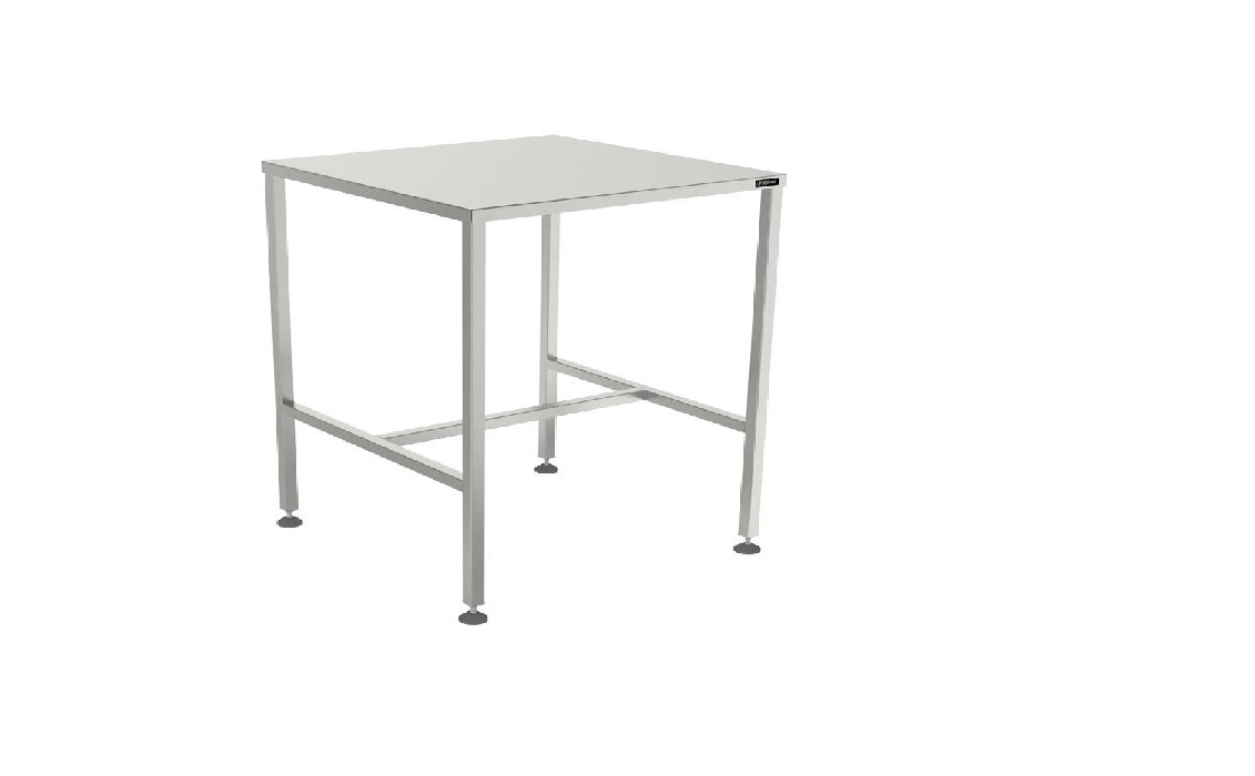 An image of Eco Table - L900 x W600 x H838 - Stainless Steel Top