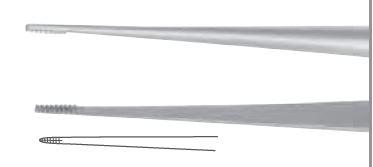 An image of Atraumatic tweezer micro 173 mm
