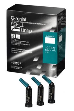 An image of G-aenial Unitips (10 Pack) AO2