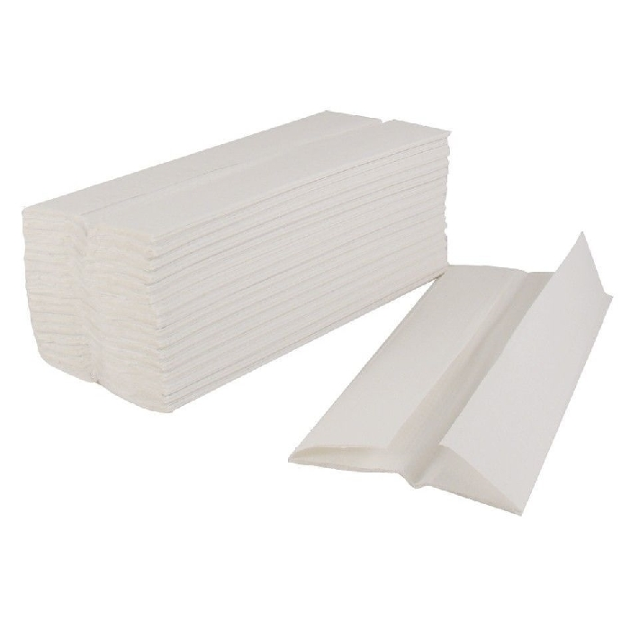 An image of Premium 2 PLY C Fold Hand White Towels