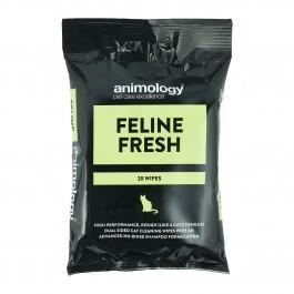 An image of Animology Feline Fresh Cat Wipes (20 Per Pack)