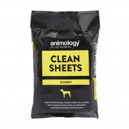 An image of Animology Clean Sheets (20 Per Pack)