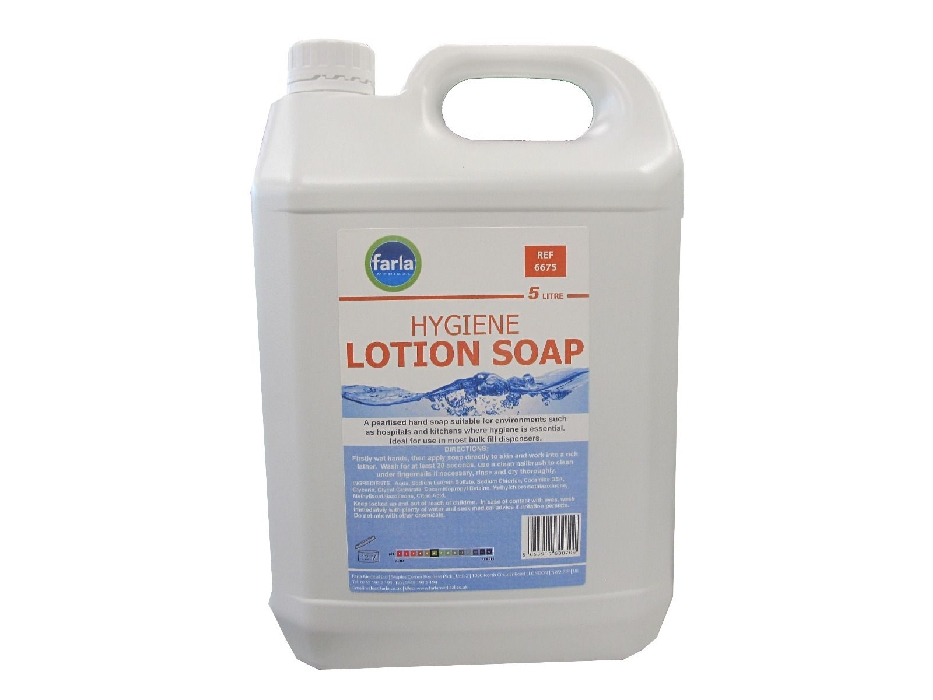 An image of MediSoap Hygiene Lotion Soap 5L