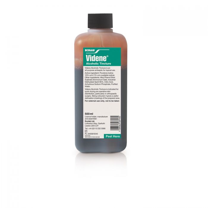 An image of Ecolab Alcoholic Tincture 500ml