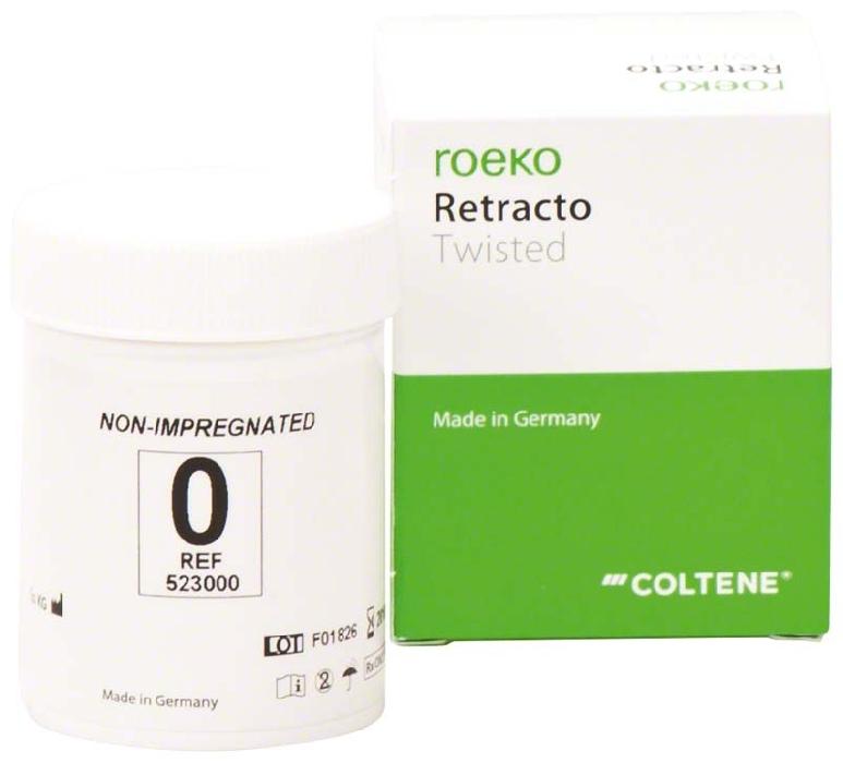 An image of ROEKO Retracto Twisted Non-Impregnated 0 x-fine 1 pc