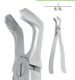 An image of EXTRACT 650-Extracting forceps # 79 (Third molars)
