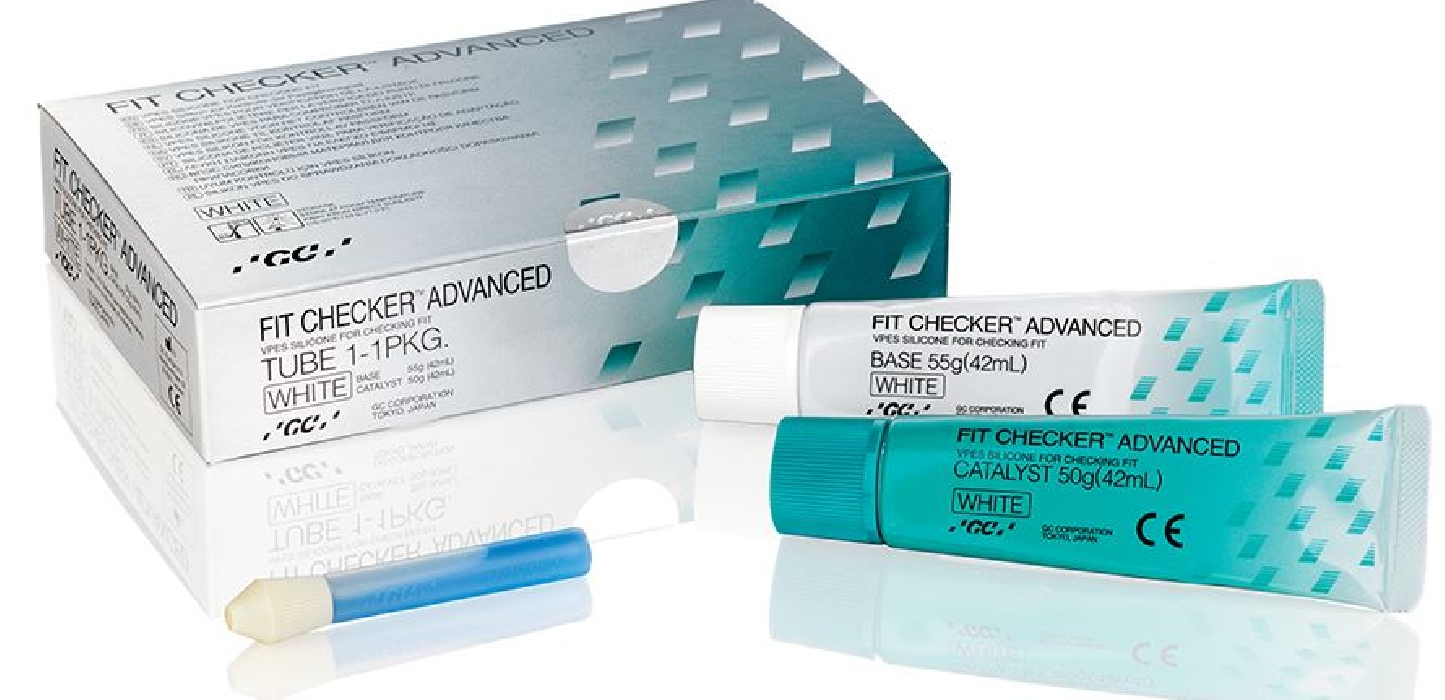 An image of Fit Checker Advanced Tube 1 - 1 White (Base 55g & Cat 50g)