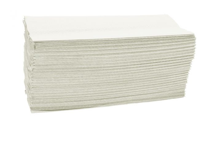 An image of Select Z-Fold Handtowel White 2 Ply