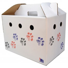 An image of Cardboard Pet Carrier