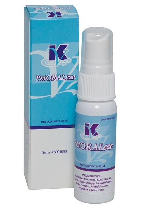 "An image of Oral Spray 30g ""PETORALEZE"""