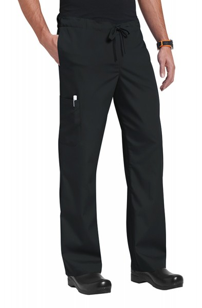 An image of Orange Standard Unisex Huntington Trousers Black S Regular