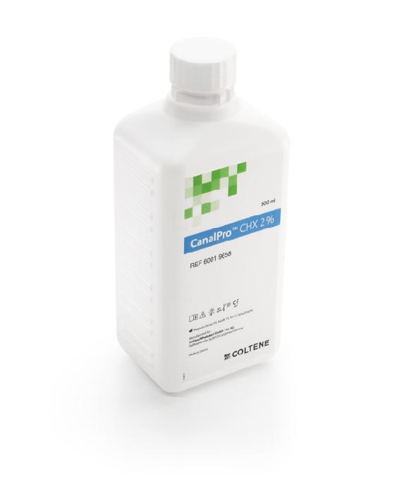 An image of CanalPro CHX 2% 500 ml