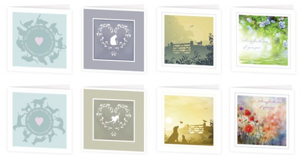 An image of Mixed Pack Sympathy Cards (50)