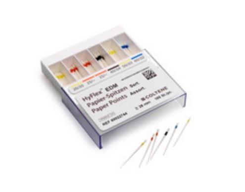An image of HyFlex Paper Points EDM Assortment 100 pcs