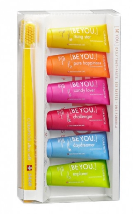 An image of Be You Display 6 x 10ml Paste & 1 Brush