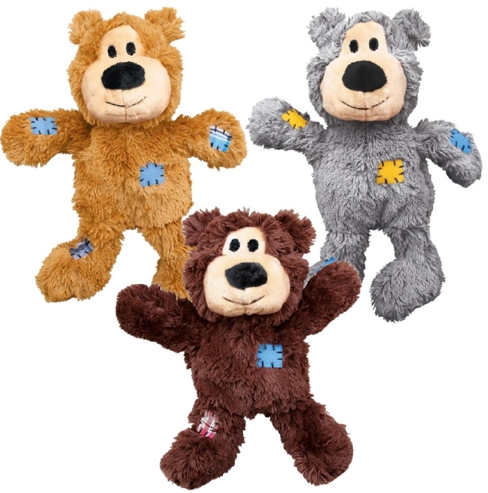 An image of Kong WildKnots Bears X-Large (Assorted Colours) (1)