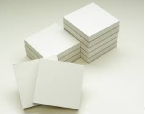 An image of Elsodent Plastified paper mixing pads waterproof 7cm x 8cm